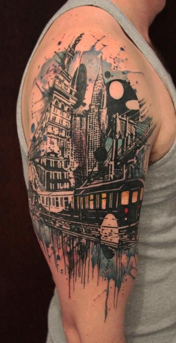Half Sleeve Tattoo Designs 30