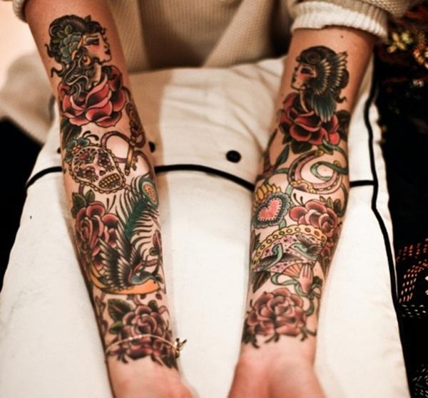 Half Sleeve Tattoo Designs 31