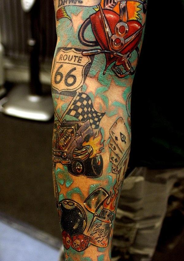 Half Sleeve Tattoo Designs 33