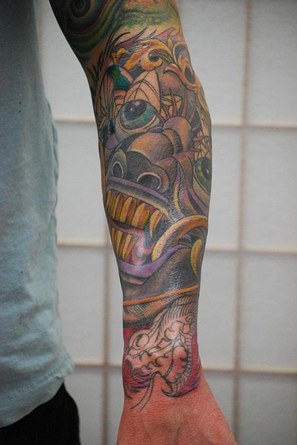Half Sleeve Tattoo Designs 34