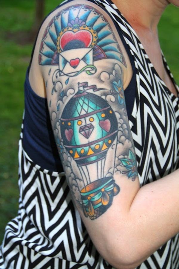 Half Sleeve Tattoo Designs 37