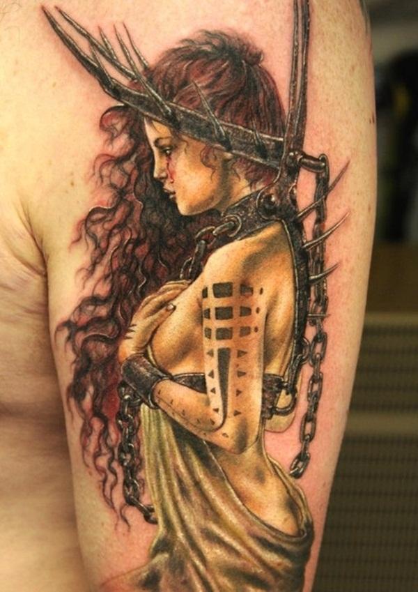 Half Sleeve Tattoo Designs 41