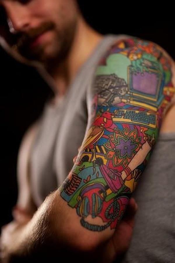 Half Sleeve Tattoo Designs 7
