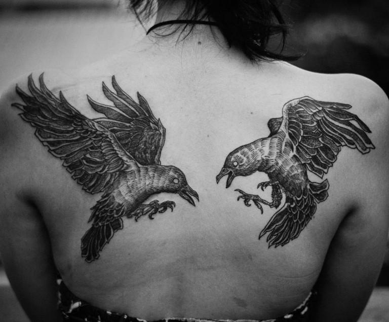 Innovative tattoos for girl 2