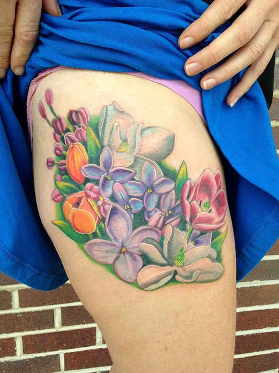Innovative tattoos for girl 24