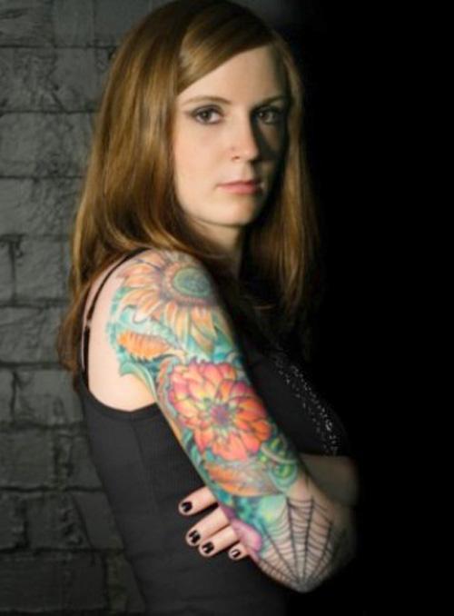 Innovative tattoos for girl 28