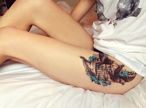 Innovative tattoos for girl 45