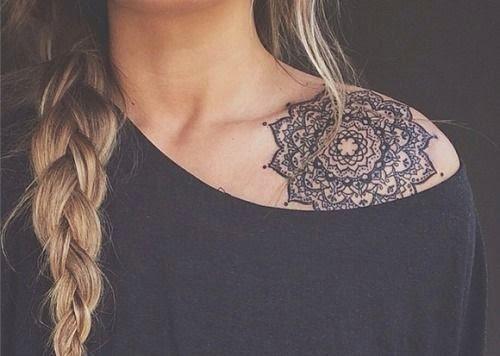 Innovative tattoos for girl 46