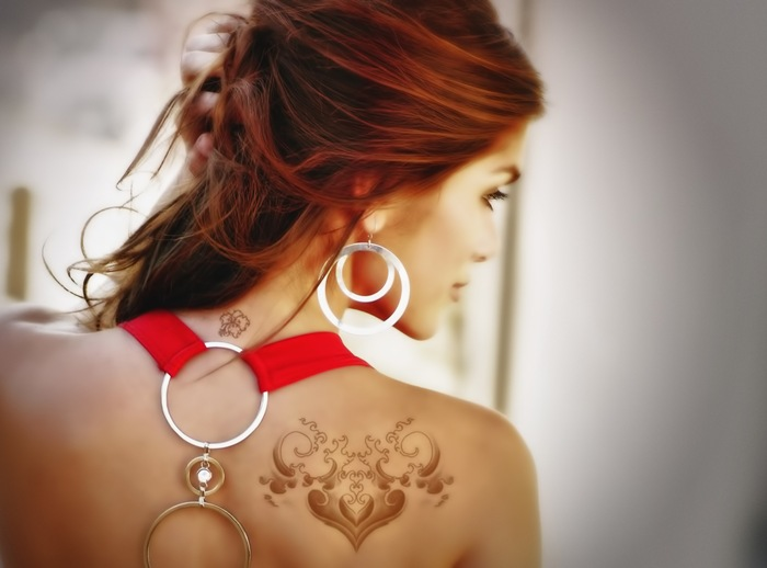 Innovative tattoos for girl 48