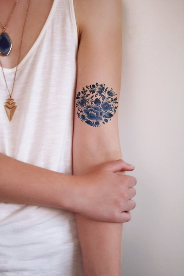 Insanely Gorgeous Circle Tattoo Designs 16