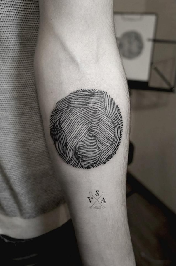 Insanely Gorgeous Circle Tattoo Designs 27