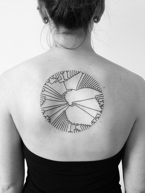 Insanely Gorgeous Circle Tattoo Designs 34