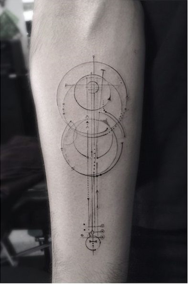 Insanely Gorgeous Circle Tattoo Designs 8