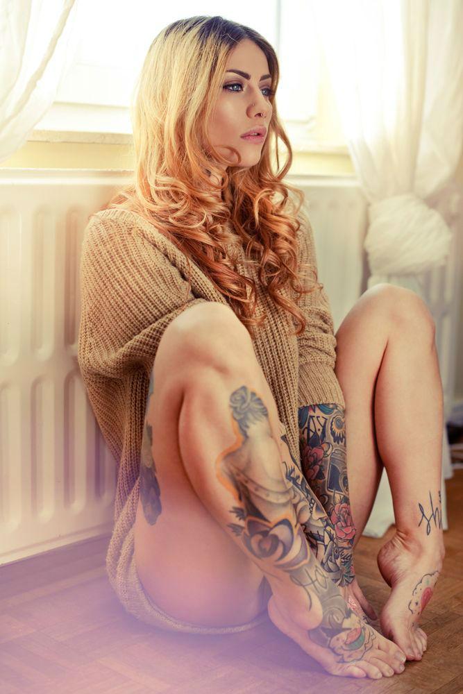 Insanely Hot Leg Sleeve Tattoos 1