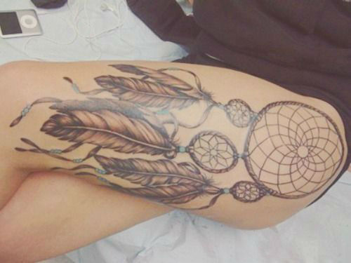 Insanely Hot Leg Sleeve Tattoos 20
