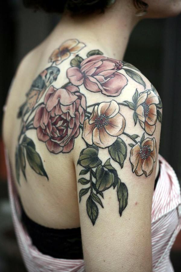 Just Perfect Shoulder Tattoos 20