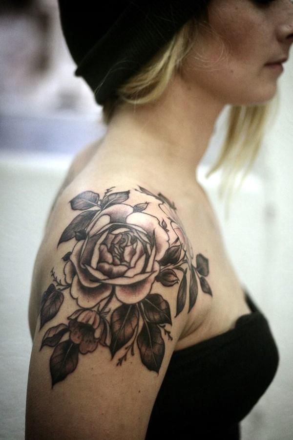 Just Perfect Shoulder Tattoos 23