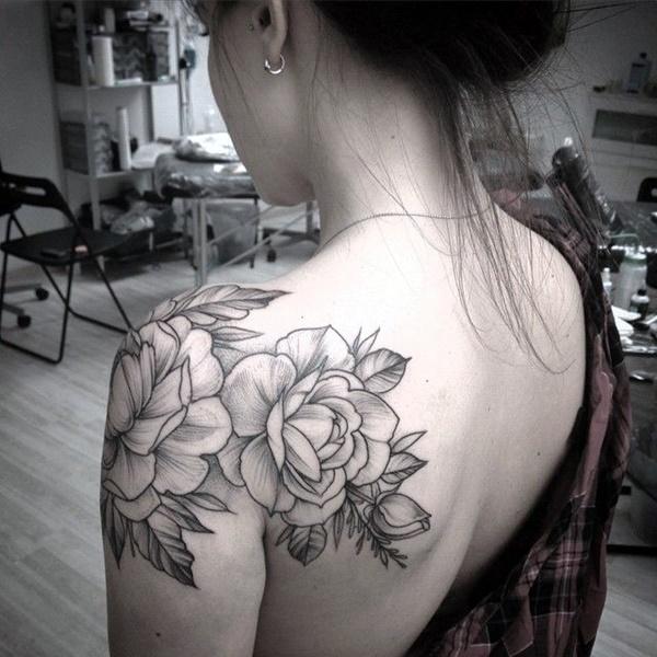 Just Perfect Shoulder Tattoos 28