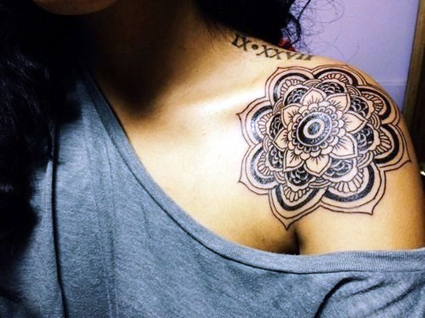 Just Perfect Shoulder Tattoos 29