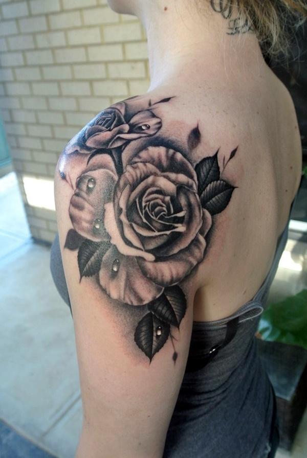 Just Perfect Shoulder Tattoos 36