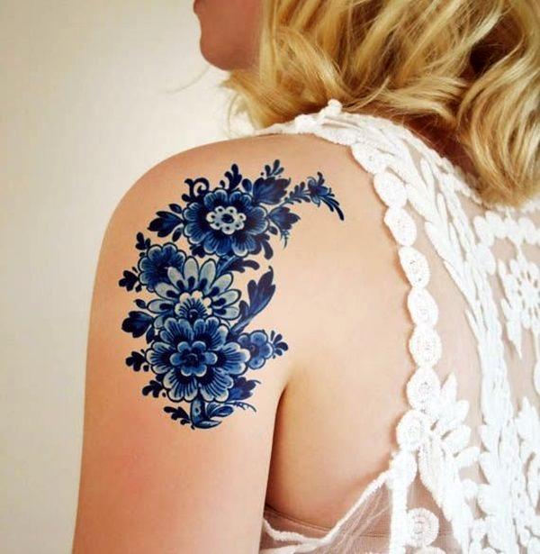 Just Perfect Shoulder Tattoos 39