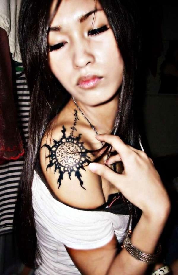 Just Perfect Shoulder Tattoos 5