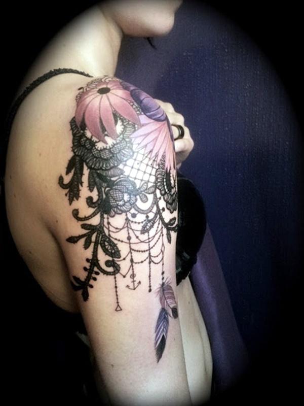Just Perfect Shoulder Tattoos 7