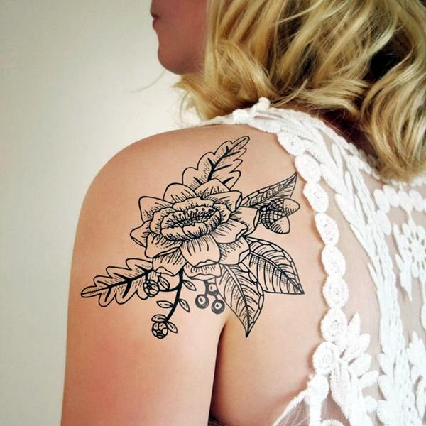 Just Perfect Shoulder Tattoos