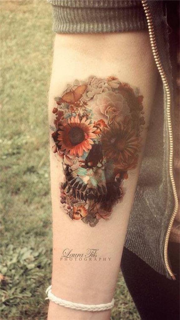 Lovely Flower Tattoo Ideas 15