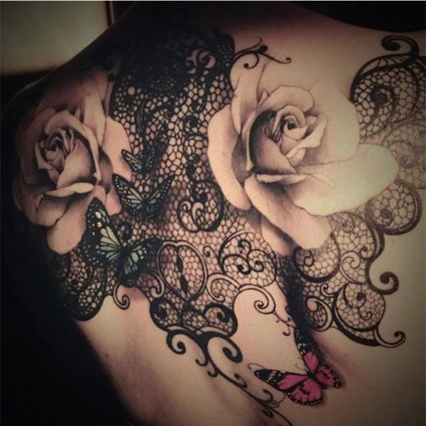 Lovely Flower Tattoo Ideas 17