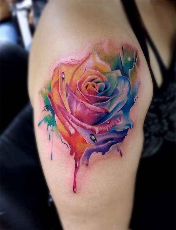 Lovely Flower Tattoo Ideas 30