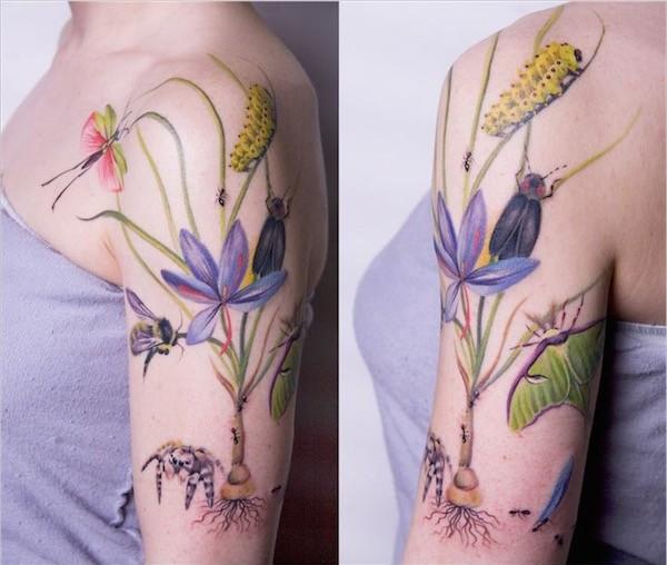 Lovely Flower Tattoo Ideas 63