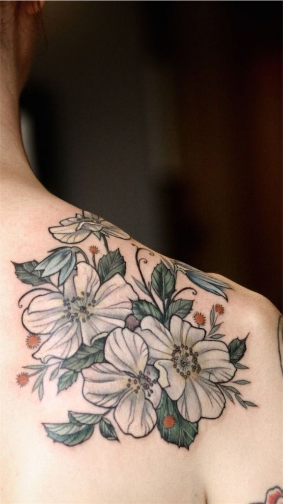 Lovely Flower Tattoo Ideas 66