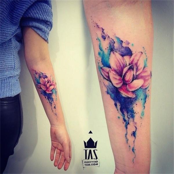 Lovely Flower Tattoo Ideas 7