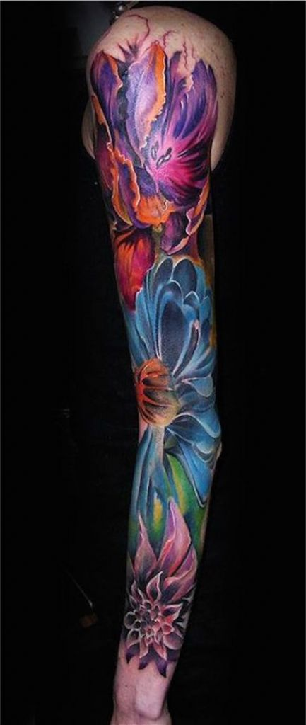 Lovely Flower Tattoo Ideas 70