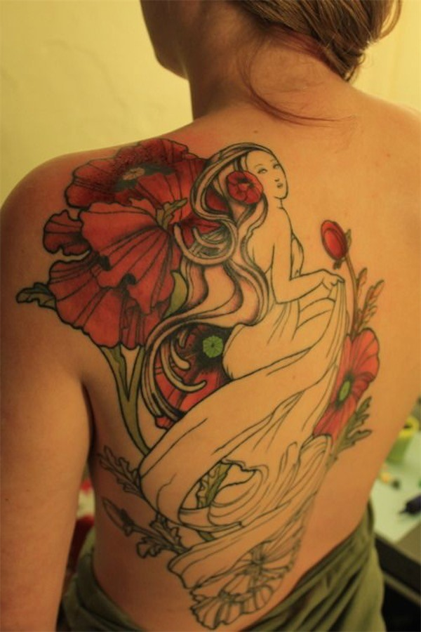 Lovely Flower Tattoo Ideas 73