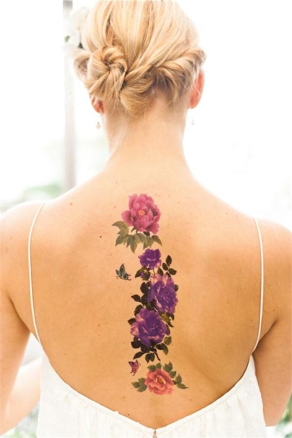 Lovely Flower Tattoo Ideas 8