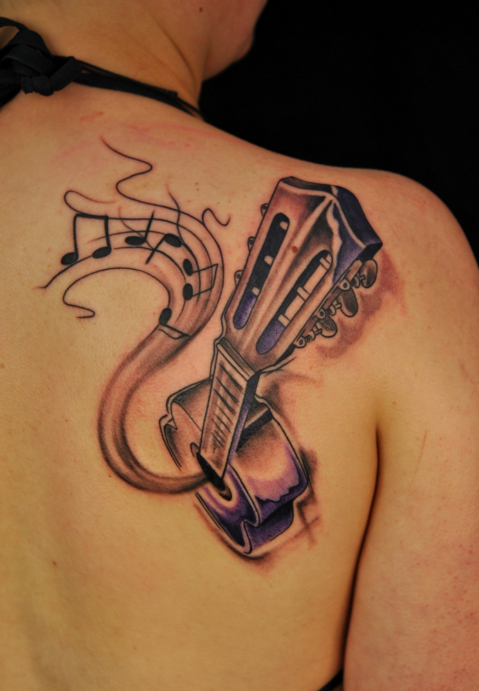 Music Tattoo Designs and Ideas 1