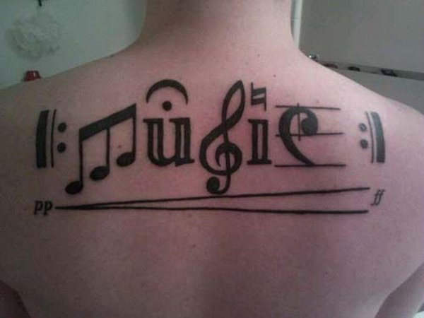 Music Tattoo Designs and Ideas 10