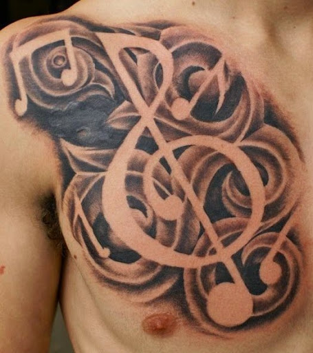 Music Tattoo Designs and Ideas 18