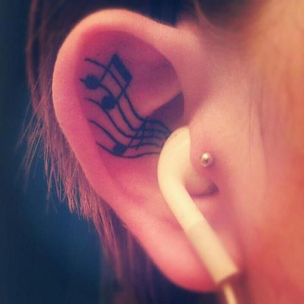 Music Tattoo Designs and Ideas 6