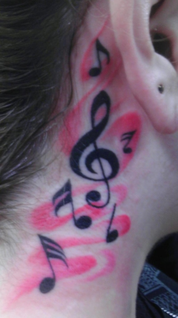 Neck Tattoo Designs For Male And Female 23