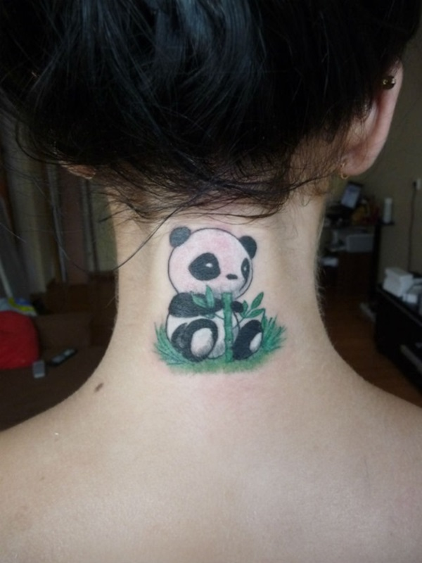 Neck Tattoo Designs For Male And Female 29
