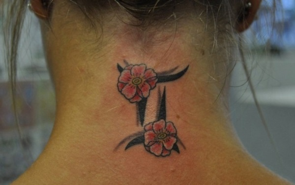 Neck Tattoo Designs For Male And Female 32
