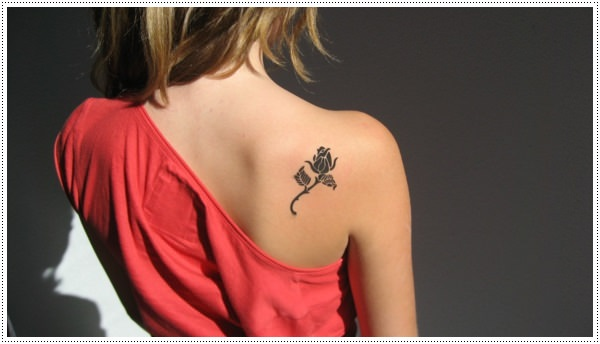 Small flower tattoos for girl