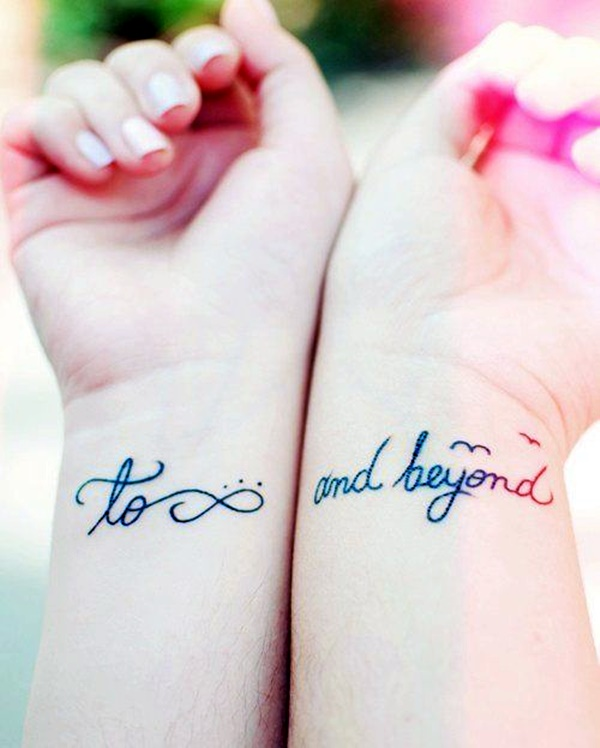 Stimulating Written Tattoos For Women 16