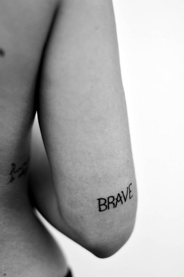 Stimulating Written Tattoos For Women 21