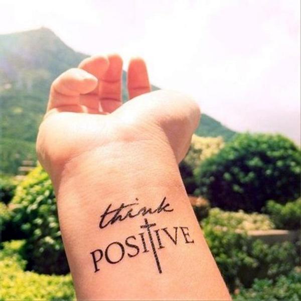 Stimulating Written Tattoos For Women 22