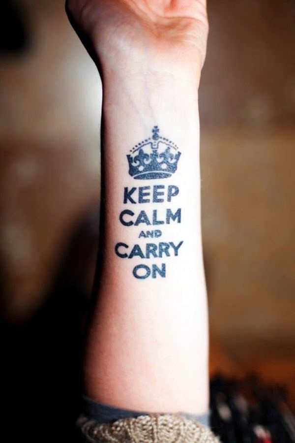 Stimulating Written Tattoos For Women 26