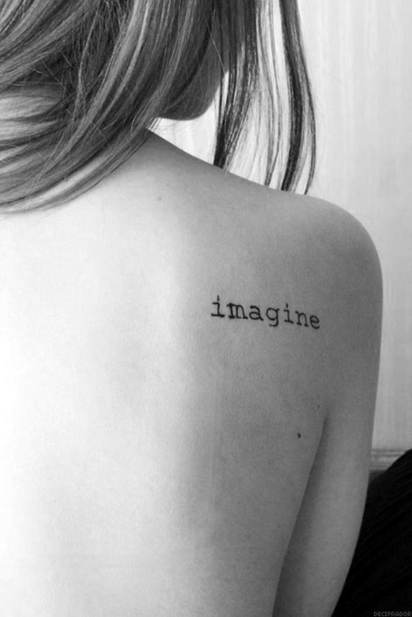 Stimulating Written Tattoos For Women 31